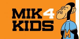 MIK, aapje voor MIK4kids