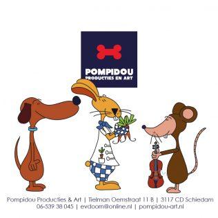 Pompidou, Chef Sjef en ratje Toe